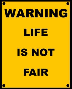 Not fair!!